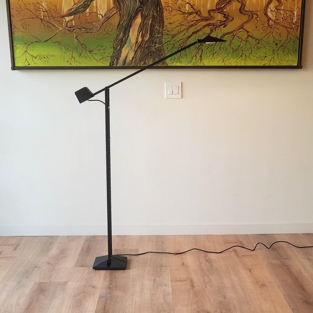 Artup 1980s Artup Crane Floor Lamp For Sale - Image 4 of 13