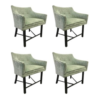 Set of Four Harvey Probber Club Chairs For Sale