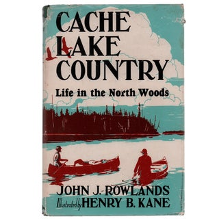 "1947 ""Cache Lake Country"" Collectible Book For Sale"