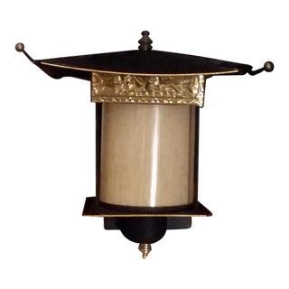 Vintage Ornate Asian Lamp For Sale