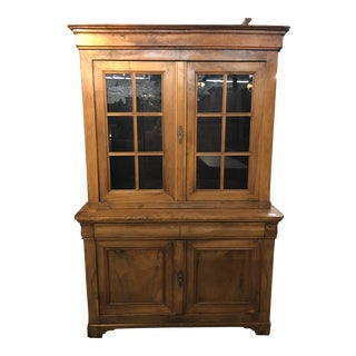 French Louis Philippe Deux Corps Cabinet For Sale