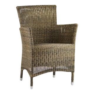 Woven Fiber Patio Chair For Sale