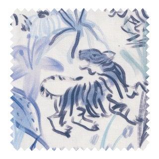 Sample - Pepper Frida Blue Fabric For Sale