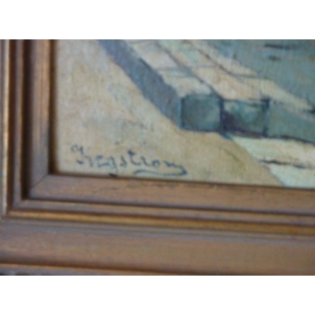 Scenes of Paris Oil Paintings - A Pair - Image 5 of 7