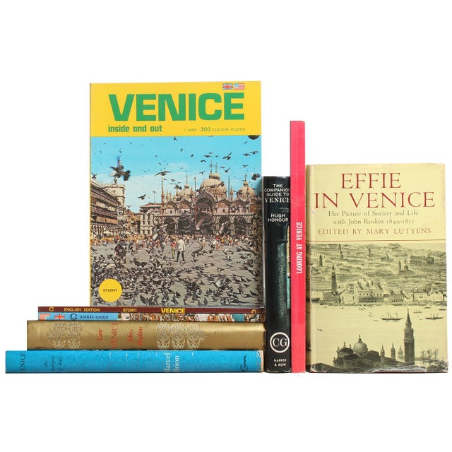 Magical Venice - Set of 8 For Sale