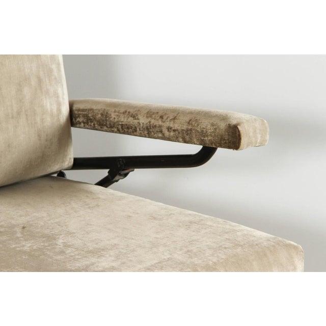 Osvaldo Borsani Italian Mid-Century Osvaldo Borsani Style Sofa / Daybed For Sale - Image 4 of 12