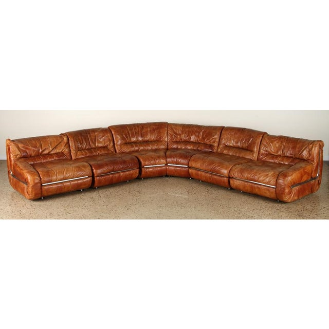 Five Piece Sectional Sofa For Sale In San Francisco - Image 6 of 12