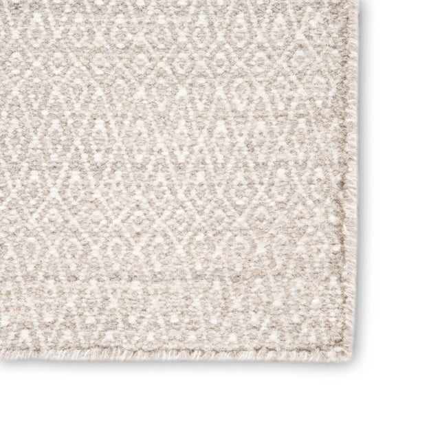 Contemporary Jaipur Living Eulalia Handmade Geometric Ivory Area Rug - 8′ × 10′ For Sale - Image 3 of 6