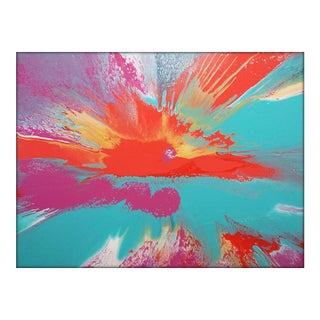 """Contemporary Abstract Painting """"Galaxy Sunset I"""" by Misty Wilson For Sale"""