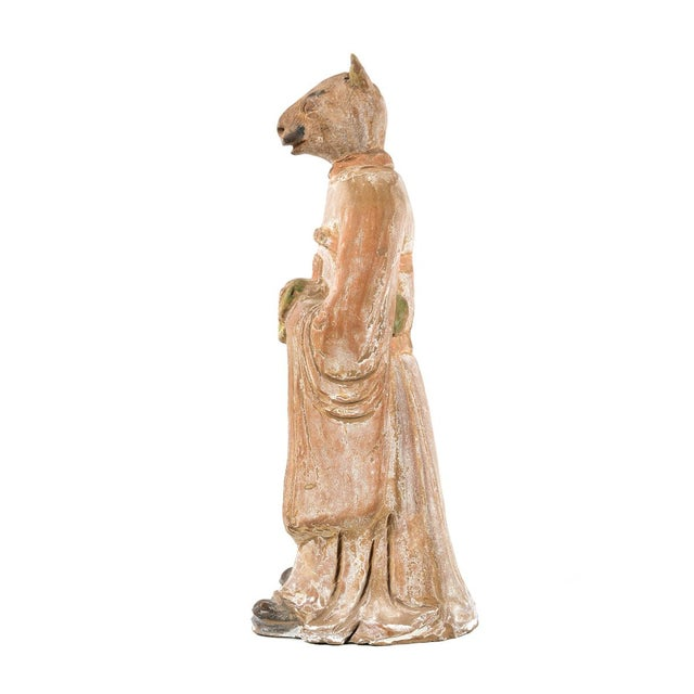 Antique Chinese Zodiac Rat Figurine - Image 3 of 9