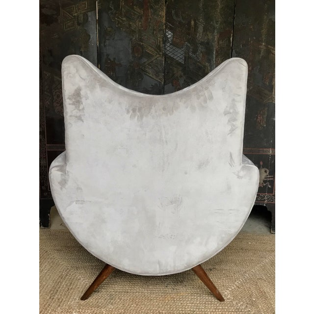 Chic Lounge Chairs in the Manner of Jean Royere - a Pair For Sale - Image 11 of 13