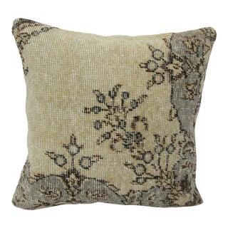 Turkish Unique Vintage Handmade Pillow Cover For Sale