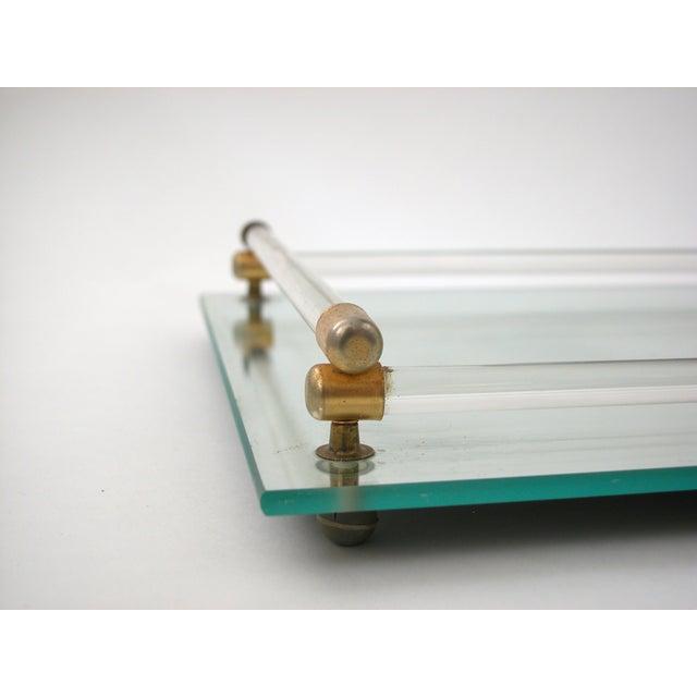 Glass Mirrored Vanity Tray - Image 8 of 9
