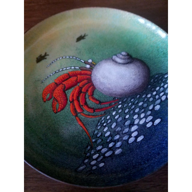 Green Serge Nekrassoff Sea Creature Plates - Set of 4 For Sale - Image 8 of 10