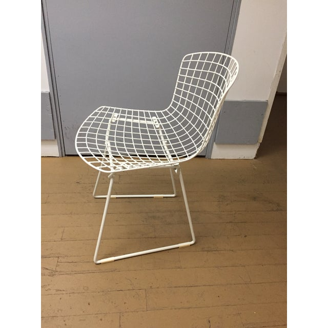 Abstract Mid-Century Modern Knoll Dining Chairs - Set of 4 For Sale - Image 3 of 9