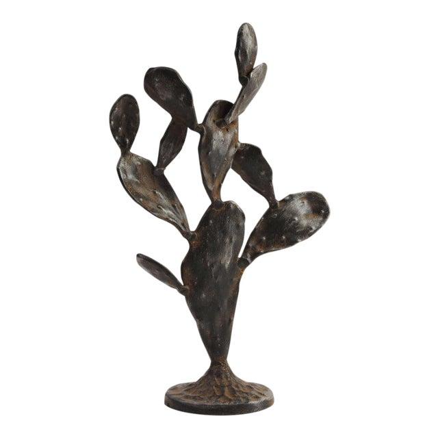 Metal Cactus Sculpture For Sale