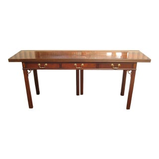 Chippendale Hickory Furniture Co. Flip Top Sideboard/Buffet For Sale