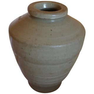 15th Century Asian Antique Song Dynasty Stoneware Jar
