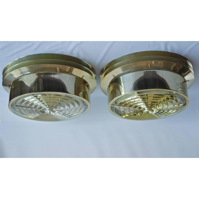Mid-Century Modern Pair of Large Ceiling Lights by Hans-Agne Jakobsson For Sale - Image 3 of 7