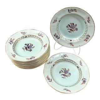 Vintage Adams Calyx Ware Soup Bowls - Set of 12