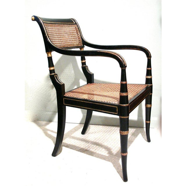 Early 19th Century English Regency Period Armchair - Image 2 of 6