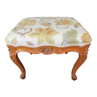 French Provincial Footstool