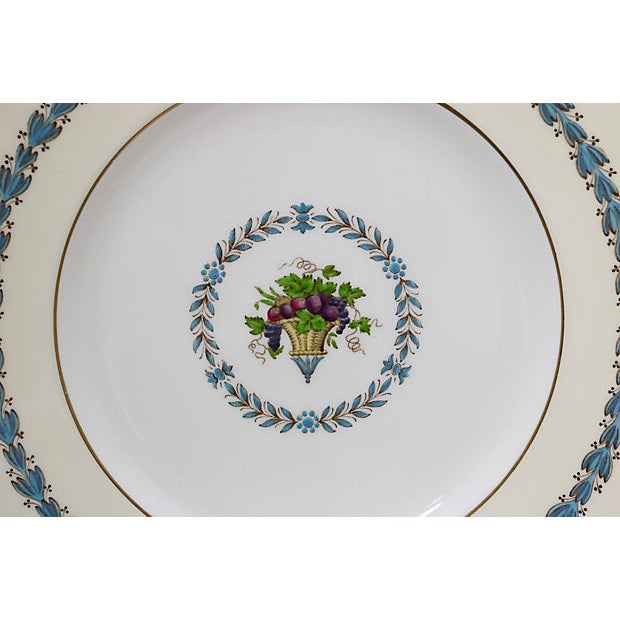 Wedgwood Wedgwood Floral Dinner Plates, S/8 For Sale - Image 4 of 7