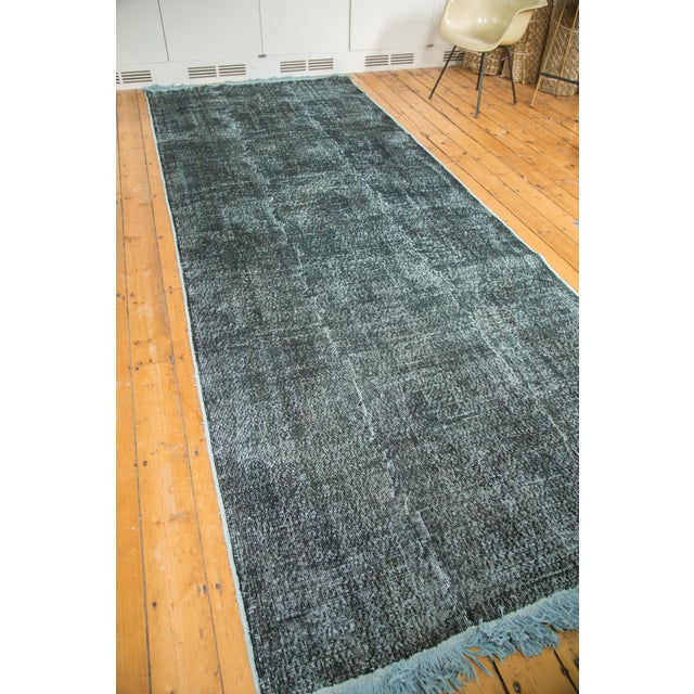"""Vintage Overdyed Distressed Runner - 5' X 13'3"""" - Image 5 of 10"""