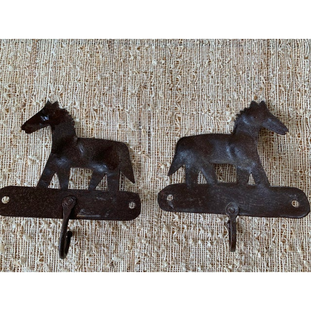 Whimsical metal Horse hooks will be adorable in a child's room or entry for any horse lover!