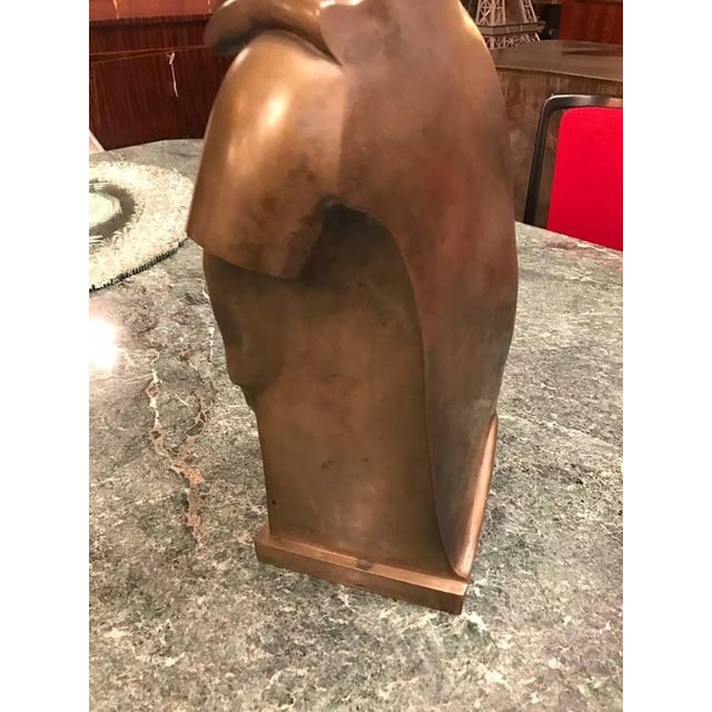 Roman Style Continental Bronze Sculpture For Sale In New York - Image 6 of 9