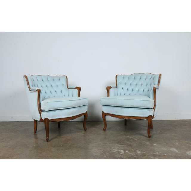 Italian-Style Chairs in Baby Blue - A Pair - Image 6 of 11