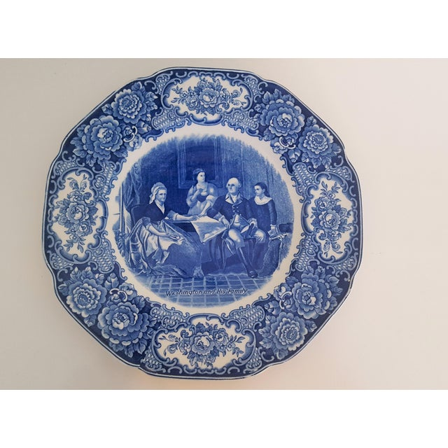 Vintage George Washington Bicentenary Memorial Plates 1732-1932 Crown Ducal England - Image 3 of 5