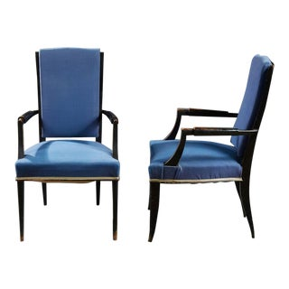 Eugene Printz (1889 - 1948) - Suite of Six Armchairs, Circa 1940. For Sale