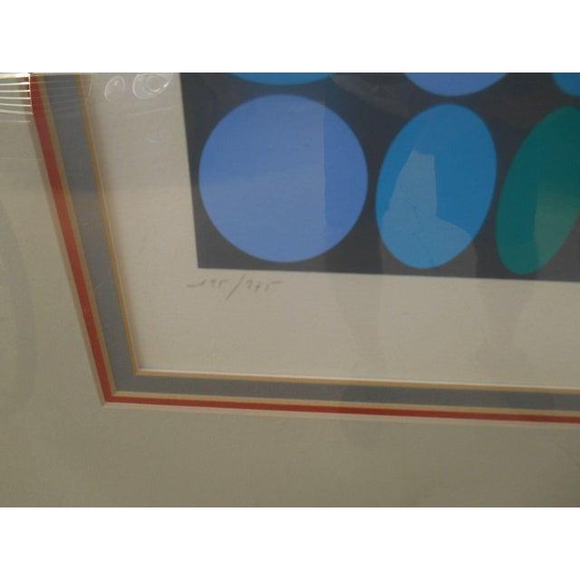 Victor Vasarely Op Art Silkscreen - Image 8 of 8
