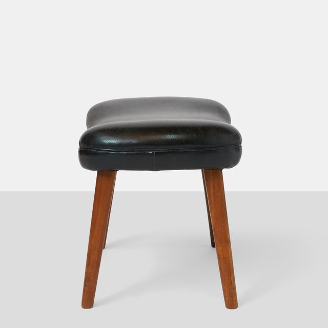 "Madsen and Schubel Ib Madsen & Acton Schubell ""Pragh"" Foot Stool For Sale - Image 4 of 6"