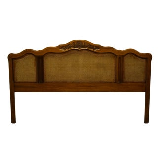 20th Century French Dixie Furniture Country King Size Headboard For Sale