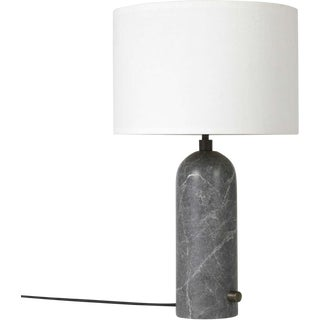 Gray Marble 'Gravity' Table Lamp by Space Copenhagen for Gubi For Sale