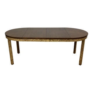Round to Oval Dining Table by Henredon