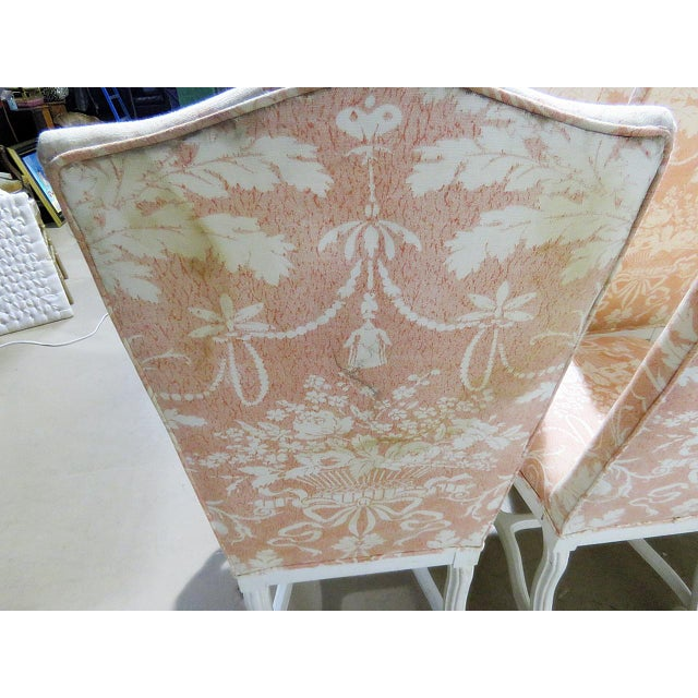 Wood Louis XV Style Dining / Side Chairs - Set of 10 For Sale - Image 7 of 9