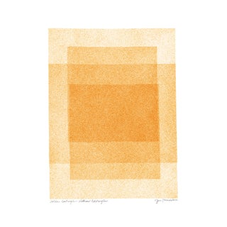 Golden Rectangles Within Rectangles Soft Geometry Series Print by Jessica Poundstone For Sale
