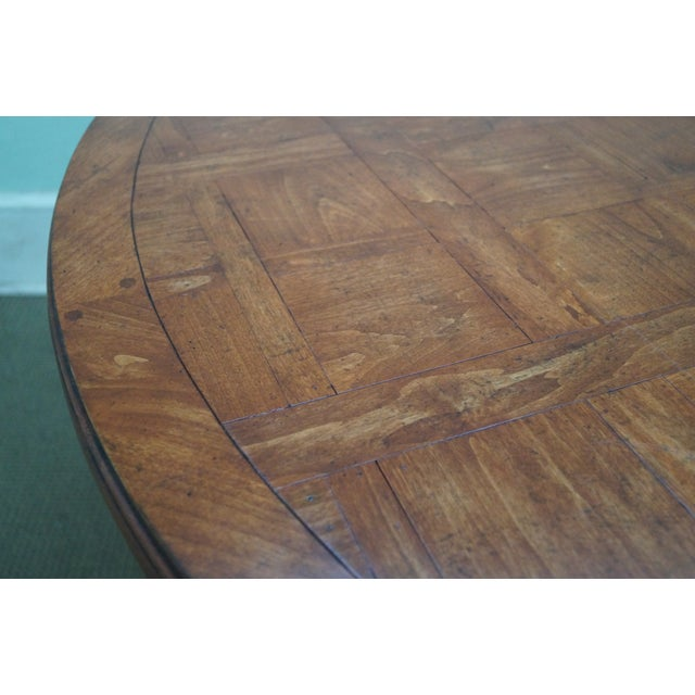 Guy Chaddock Parquet Top Extension Dining Table - Image 10 of 10