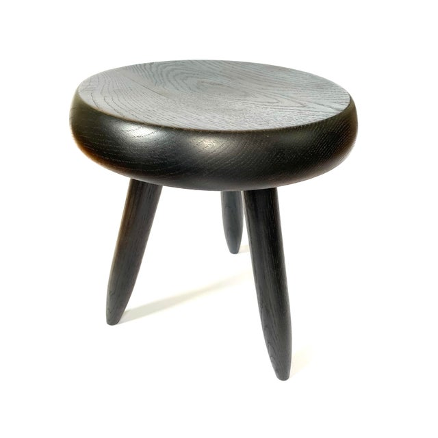 Charlotte Perriand 1950s Galerie Steph Simon Charlotte Perriand Stool For Sale - Image 4 of 12