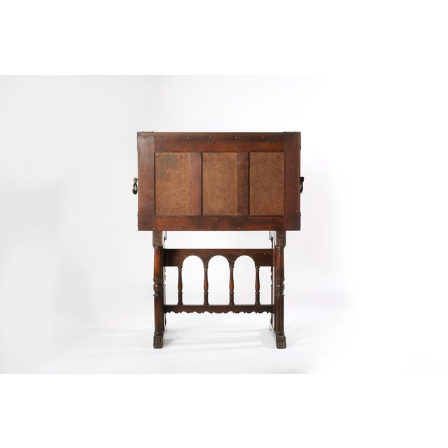 8th Century Baroque Style Cabinet on Stand / Bargueno / Vargueno For Sale - Image 10 of 13
