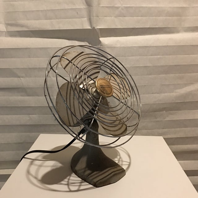 Vintage Manning Bowman Electric Table Fan - Image 2 of 6