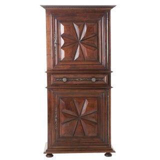 French 19th Century Louis XIII Homme Debout or Cupboard For Sale