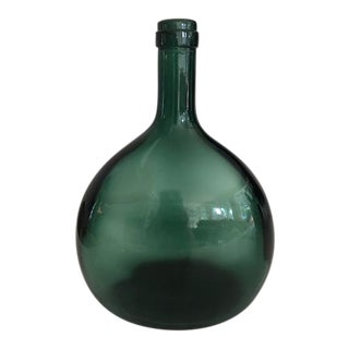 Emerald Green Glass Bottle