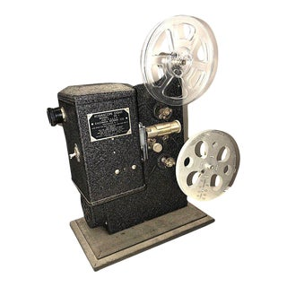 Kodak Movie Projector Circa 1934. Original Black Finish. Correct Art Deco Display Piece For Sale