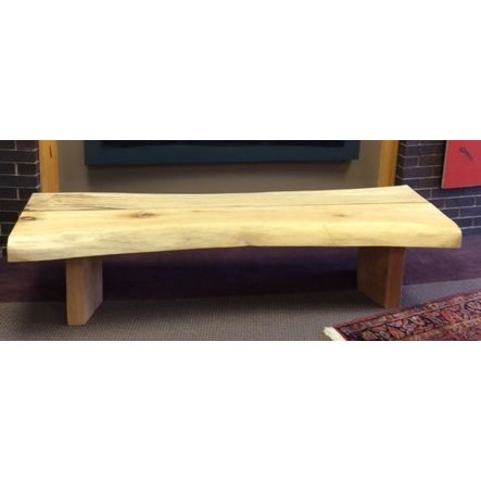 The wood for this bench was salvaged in Michigan. After drying out the wood, this bench was then carefully hand crafted in...