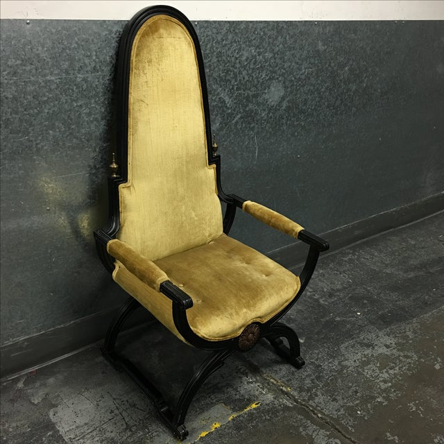 Circa 1930's Empress Chair - Image 3 of 9