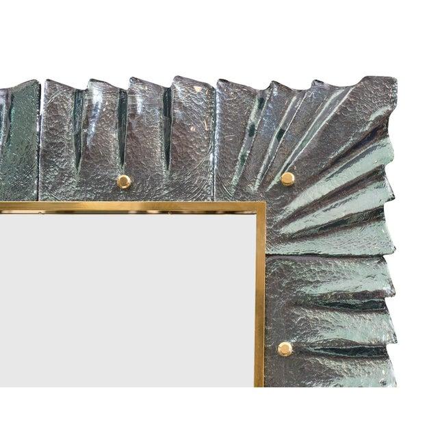 2010s Murano Glass Aqua Mirrors For Sale - Image 5 of 10
